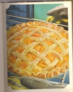 Interesting Contrast: B H & Gardens Peach Pie