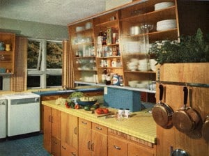 Kitchen art a place for everything mid century inspired kitchen - A Place For Everything Everything In It S Place Modern