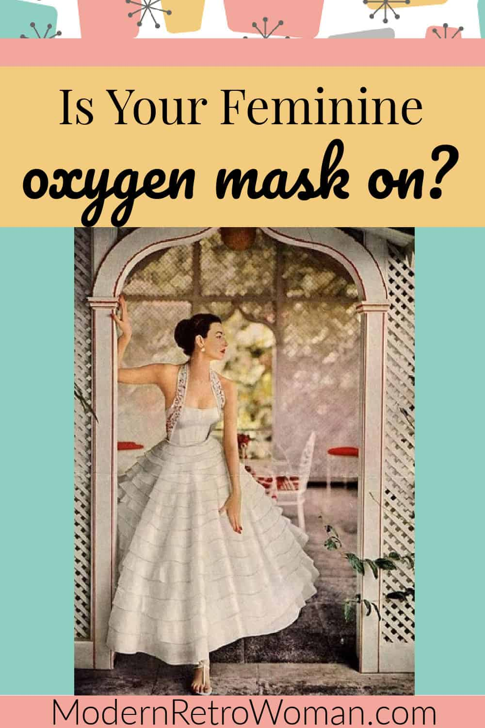 Is Your Feminine Oxygen Mask in Place?