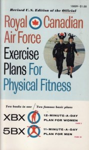 Royal Canadian Air Force Exercise Book Cover