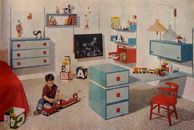 Decorating a Room is Child's Play