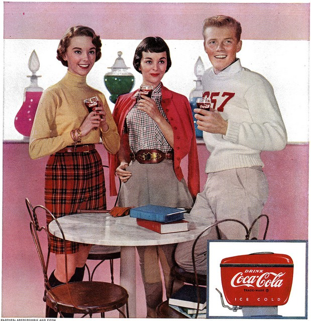 Coca Cola Ad from 1955