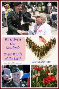 We Express Our Gratitude - Remembrance Day