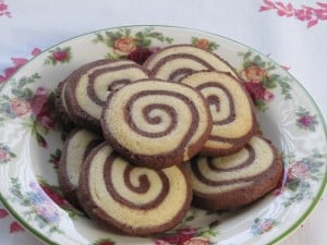 Monday Menu: Chocolate Pinwheel Cookies