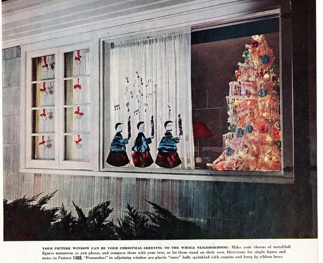 Your Picture Window Can be a ChristmasGreeting
