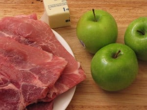 Ingredients for Bavarian Pork Chops