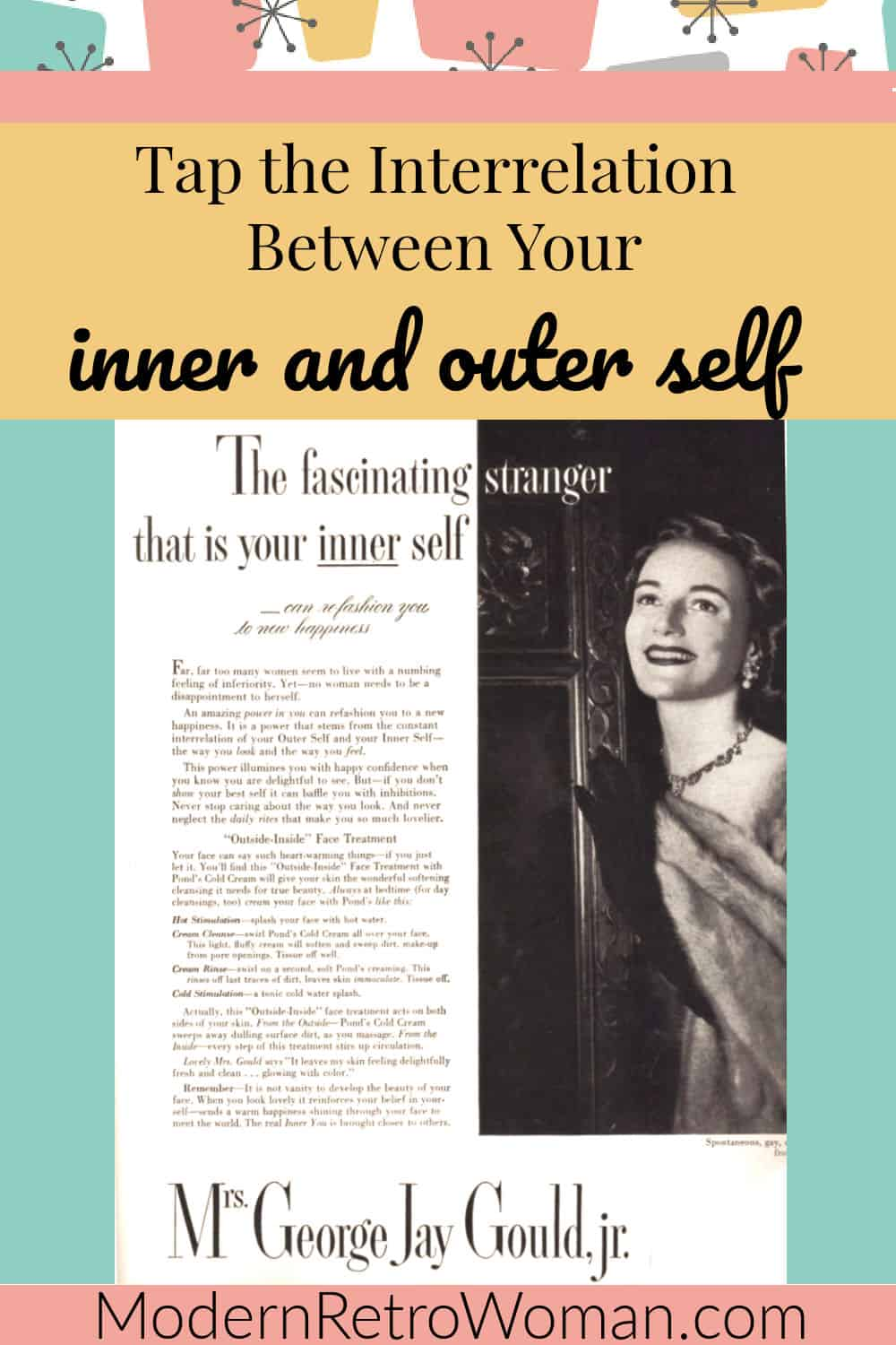 The Interrelation Between Inner and Outer Self