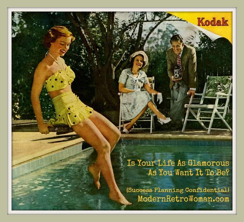 It's Always Summer in Snapshots, Kodak Advertisement, 1949. Source image courtesy of Paul Malon on Flickr.com