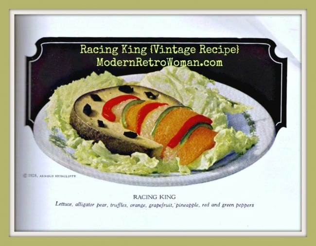 Racing King Salad {Vintage Recipe}