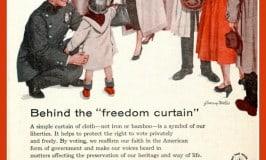 Behind the Freedom Curtain Vote ModernRetroWomancom