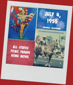 All States Picnic Parade July 4, 1955 {Home Movie}