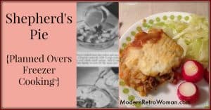 Shepherd's Pie {Planned Overs}