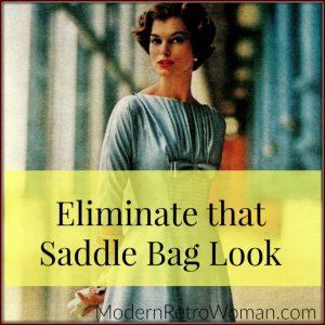 Eliminate that Saddle Bag Look ModernRetroWoman.com